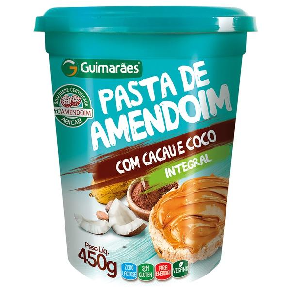 Pasta de Amendoim com Cacau e Coco 450g