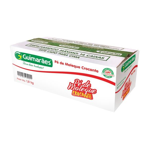 Pé de Moleque Crocante Cx C/100un 1.800kg