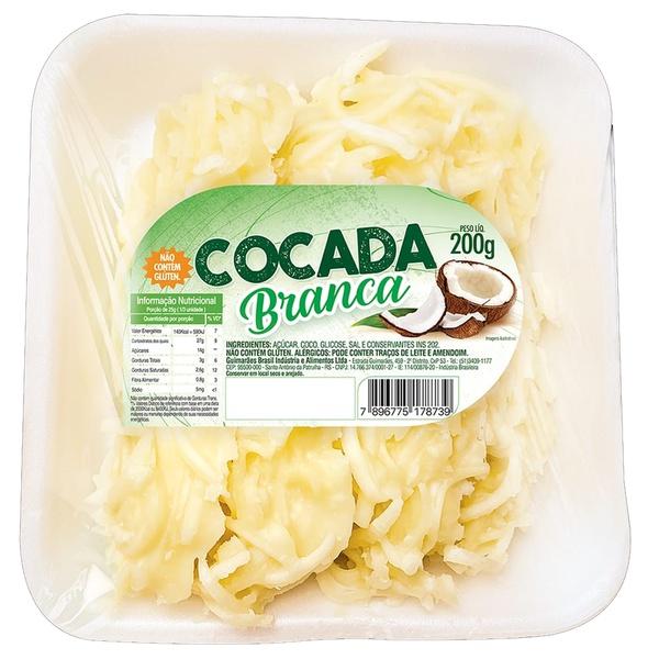 Cocada Branca Bandejas 200g
