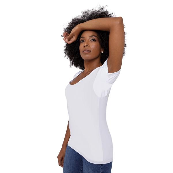 Camisa Skin Shirt Clássica Branca Feminina
