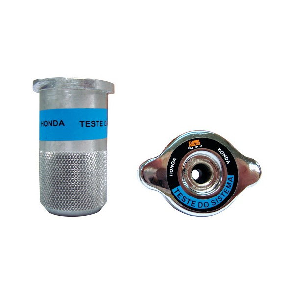 Conjunto para Teste do Sistema de Arrefecimento de Automóveis e Utilitários RAVEN 109671