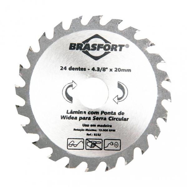 Serra Circular Widea Brasfort 4.3/8x24x20 8232 Brasfort