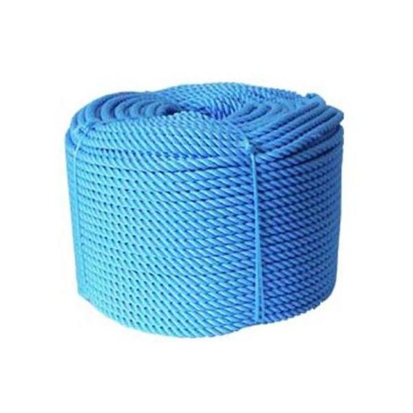 Corda Nylon Torcida Azul 16mm Rolo 220m 25Kg
