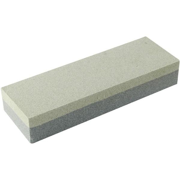 Pedra de Afiar Amolar Facas Dupla Face 8035 Brasfort