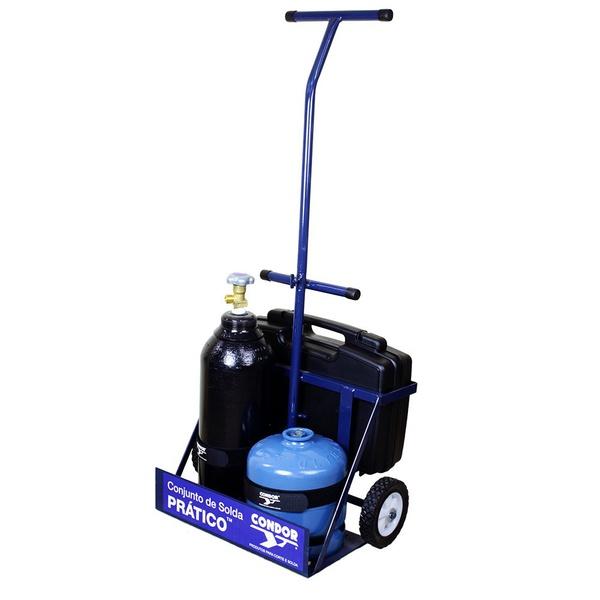 Conjunto Prático de Solda Oxigênio/GLP CONDOR 407422