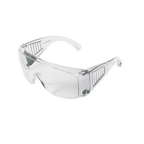 Óculos De Proteção Epi Segurança Panda Incolor Sobrepor Kalipso