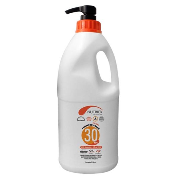 Protetor Solar 2 litros Nutriex FPS 30 com Dosador