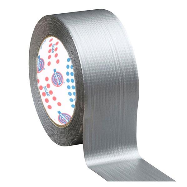 Fita Eurocel Silver Tape Cinza 50mm X 50 metros