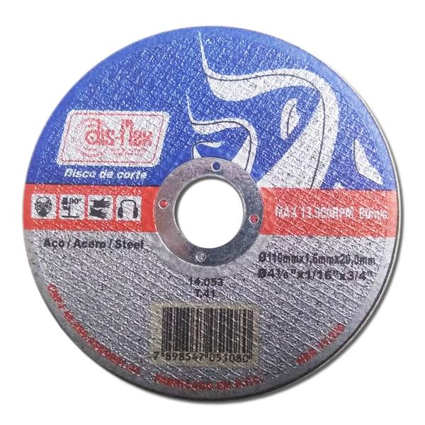 Disco de Corte Dis-Flex 110x1,6x20mm 14053 Ferro