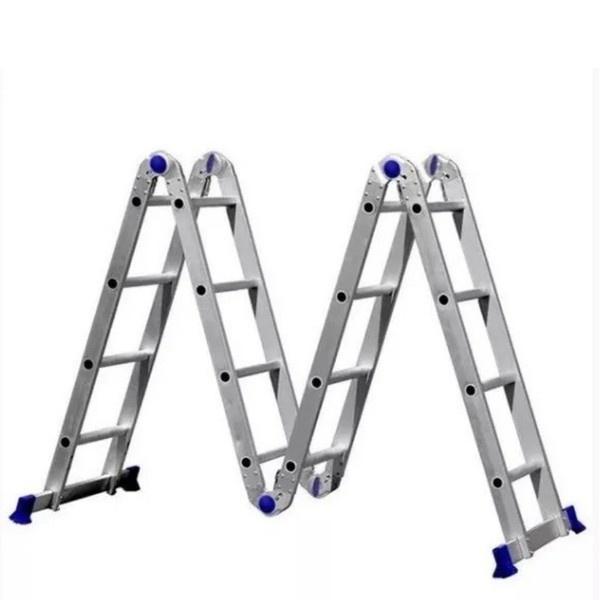 Escada Articulada 4x4 16 Degraus Real Escadas