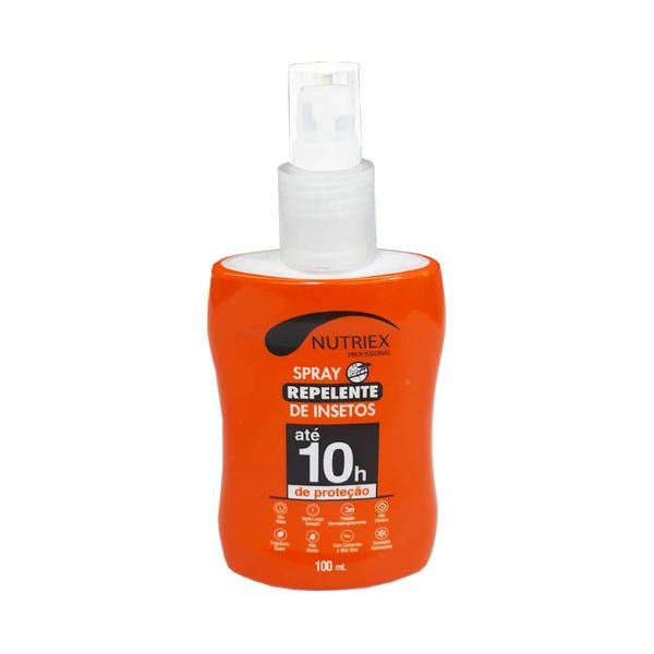 Repelente de Insetos Spray Até 10 Horas 100ml Nutriex