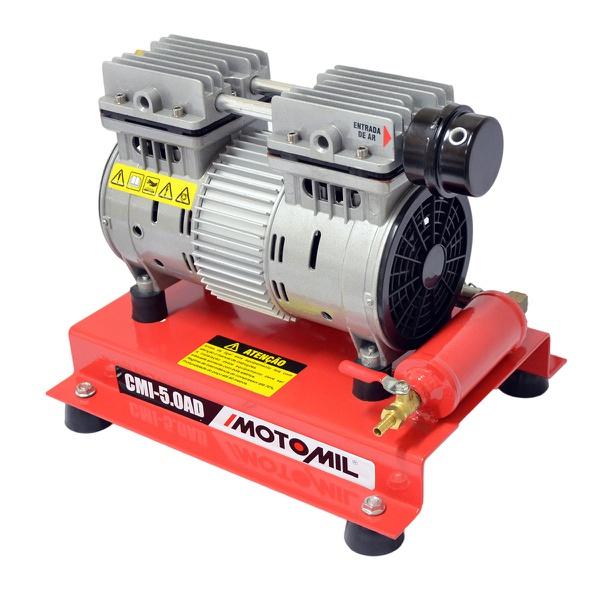 Compressor de ar direto 1,3 hp isento de óleo - CMI-5.0AD 220V