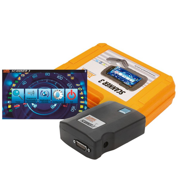 SCANNER AUTOMOTIVO RAVEN 3 108801 SEM TABLET