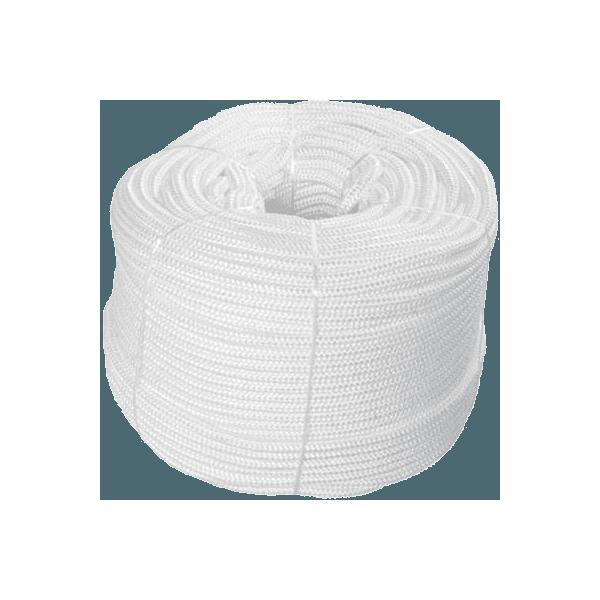 Corda Branca PP Amarrações Lonas Capas 10mm 190 Metros