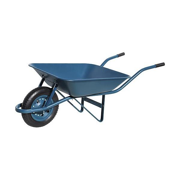 Carrinho de Mâo Pedreiro Pneu Camara 3.25 Azul 100187 Chapa 24 Paraboni