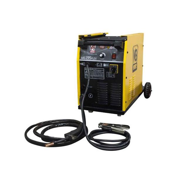 Máquina de Solda Mig V8 BRASIL 195A Monofásico MIG 195BR Flex 107608