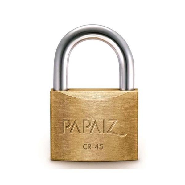 Cadeado Papaiz Latão Cr 45mm Standard