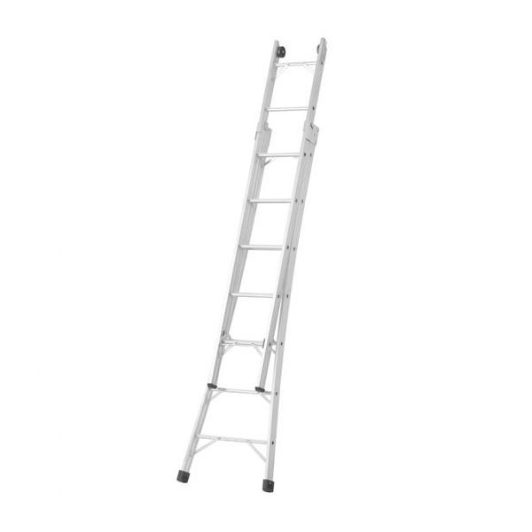 Escada Alumínio Abrir E Extensiva 08degraus 2.5 X 4.4mt Agata