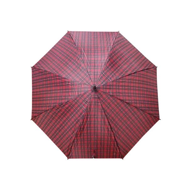 Guarda Chuva Xadrez Grande Tipo Portaria Vermelho