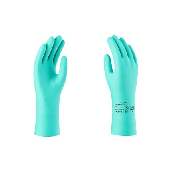 Luva Nitrílica Safetynit Com Forro Mod. 5010 - Ldi Safety