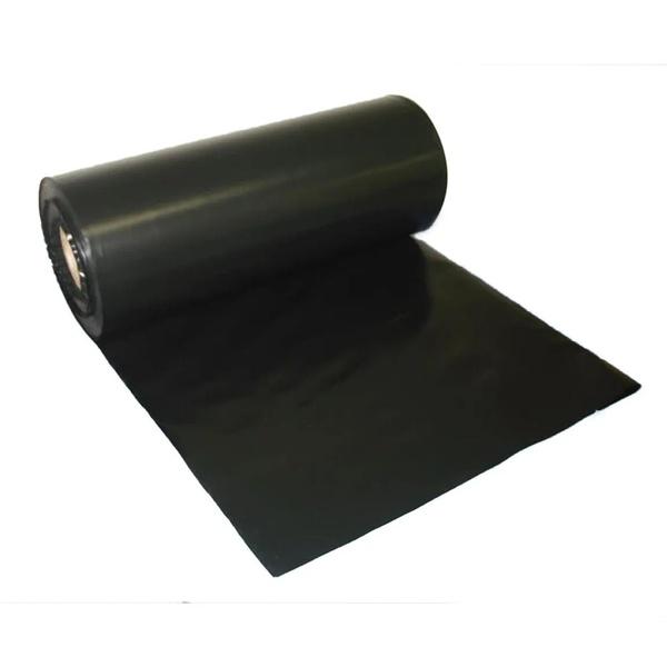 Lona Plástica Preta 4x100 Metros bobina 25kg 62 Micras