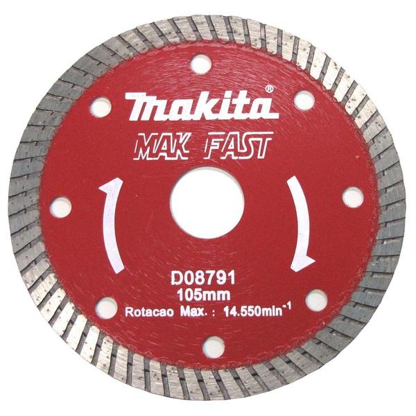 """Disco Diamantado 4"""" Turbo D-08791 Seco Makita"""