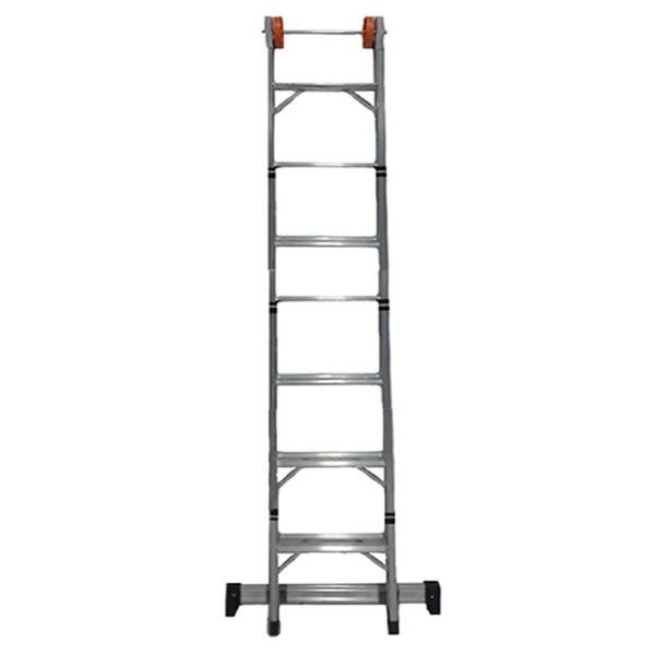 Escada Alumínio Abrir E Extensiva 07degraus 2.2 X 3.8mt Agata