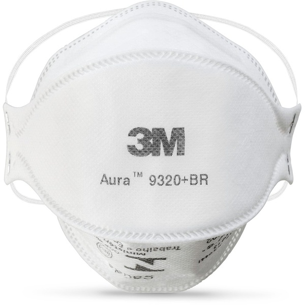 Mascara PFF2 3M Aura 9320 + BR - Só Aqui Ferramentas