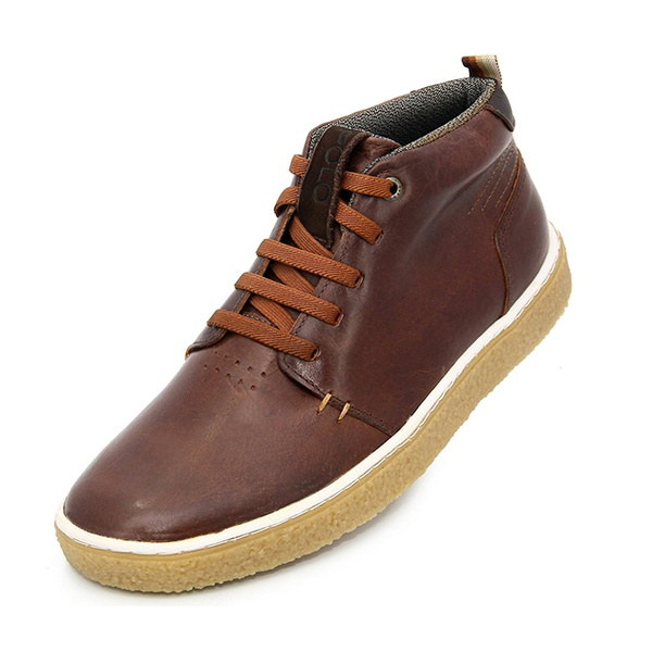 Bota casual masculina Polo-city 611 Tabaco