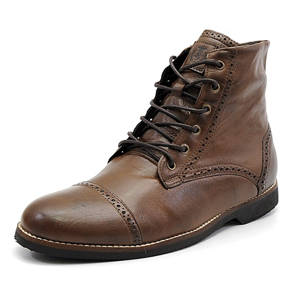 Bota Casual Masculina Shoes Grand 56160/4 Chocolate