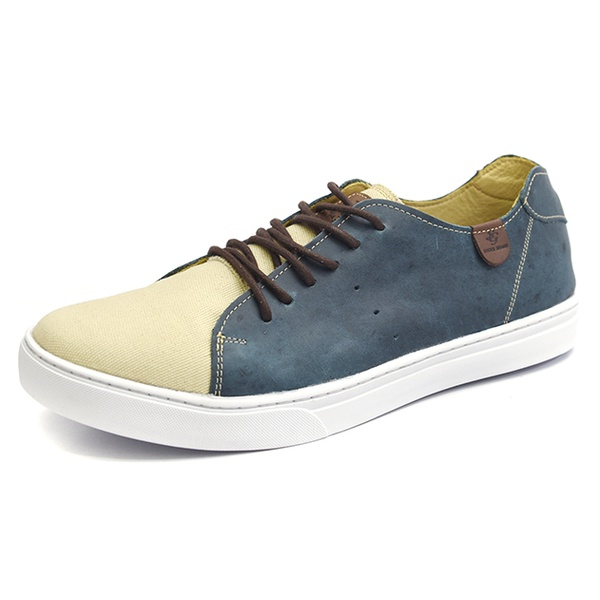 Casual Masculino Shoes Grand 1145/3 Azul Petroleo