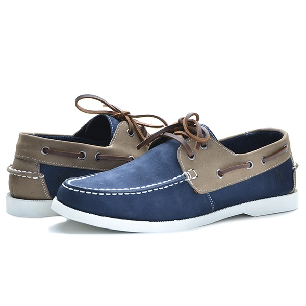 Dockside Masculino Shoes Grand 66100/7 Azul - Grafite