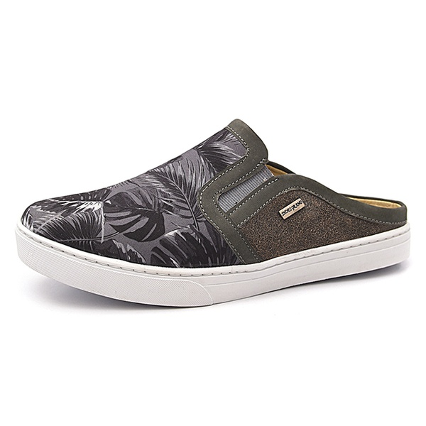 Mule Masculino Shoes Grand 165/2 Floral