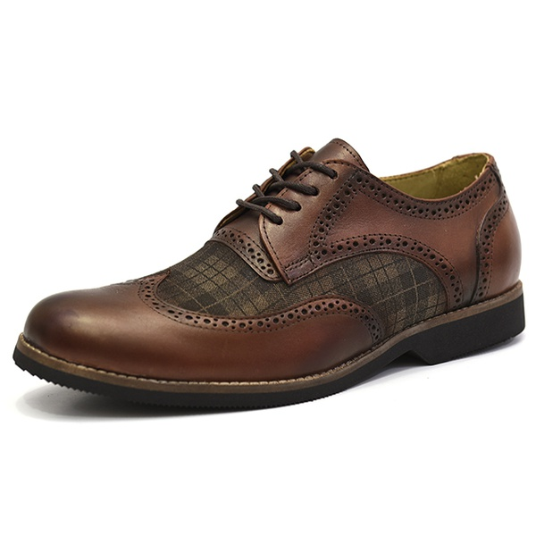 Sapato Social Oxford Shoes Grand 68141/1 Whisky