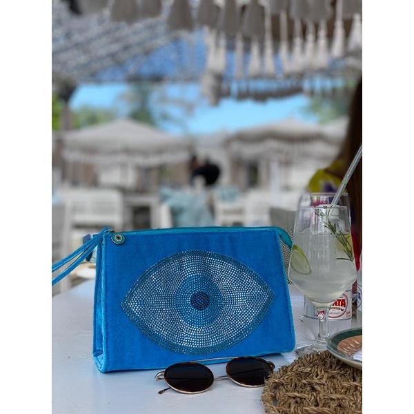Clutch Eye All Blue