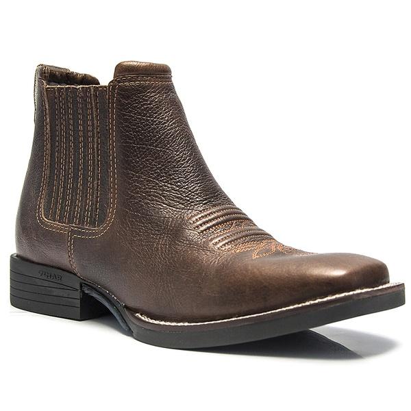 Botina Texana Vimar Boots 82051 Texas Café