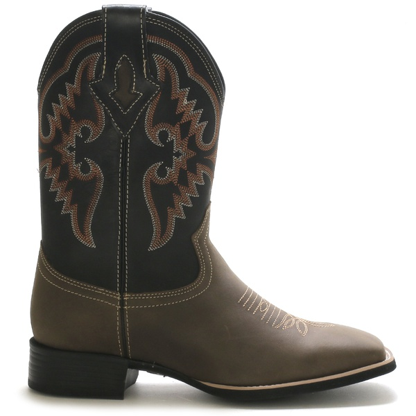 Bota Texana Masculina Bulls Horse 50022 Dallas Brown