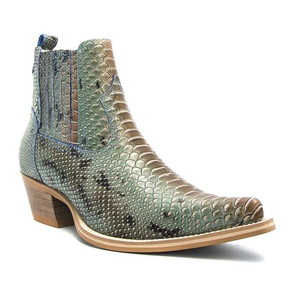 Bota Country Western Vimar Boots 82068 Anaconda Azul