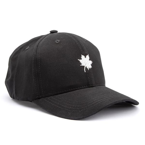 Boné Folha Canadian Preto/ Branco