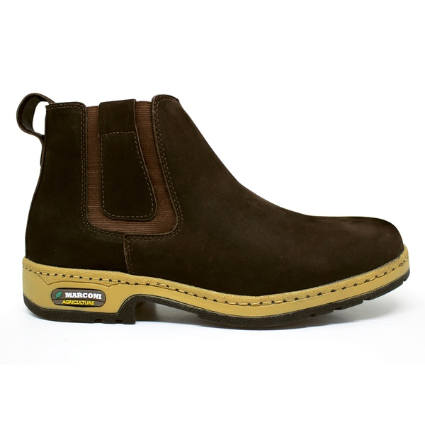 Boot Agriculture Masculino Marconi 7111 Nobuck Café