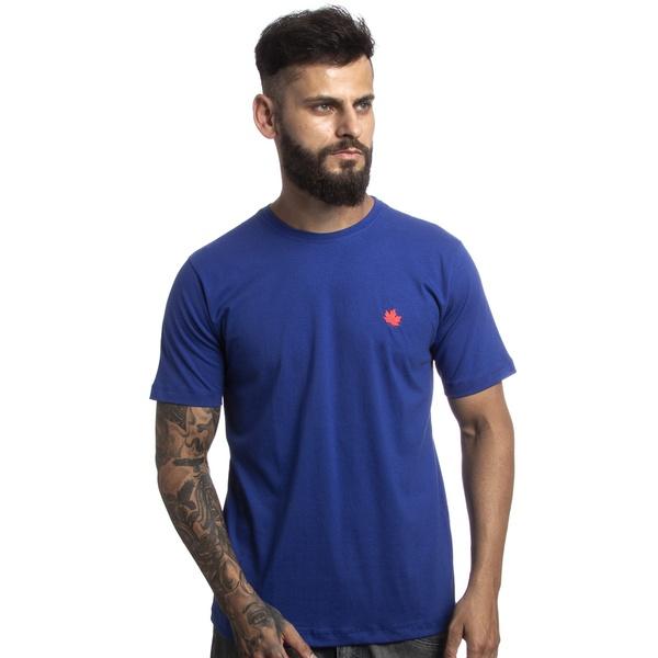 Camiseta Básica Canadian Algodão 0111 Azul Royal
