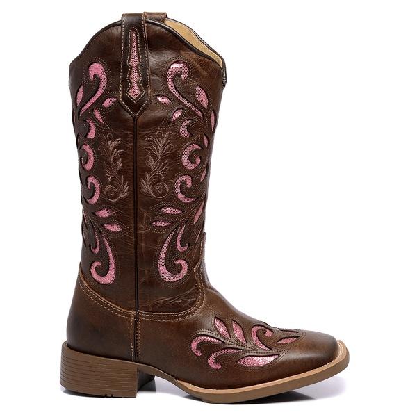 Bota Texana Feminina High Country 2587 Fóssil Café