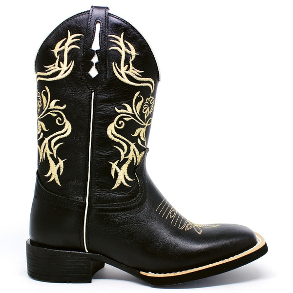 Bota Texana Tribal Marconi 7800 Latego Preto