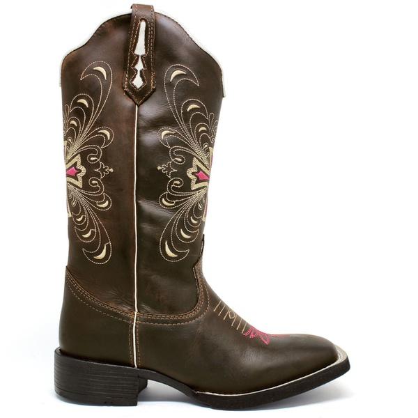 Bota Texana Feminina Marconi 7699 Crazy Horse Café