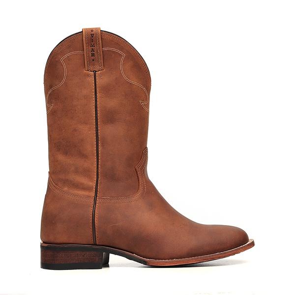 Bota Roper Leather Sole Vimar Boots 81288 Dallas Bambú