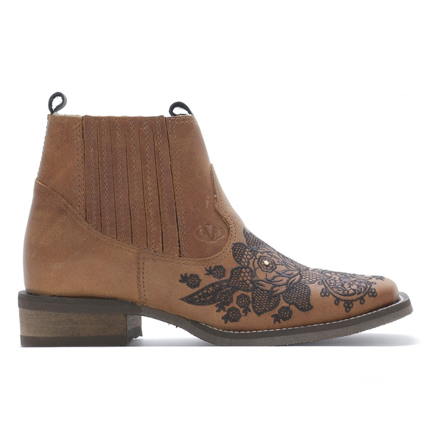 Botina Feminina Vimar Boots 12184 Dallas Bambú