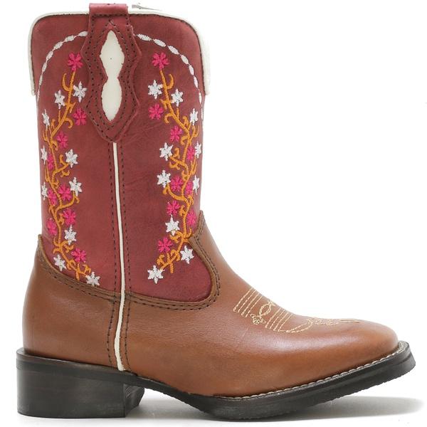 Bota Texana Infantil High Country 3333 Latego Tan