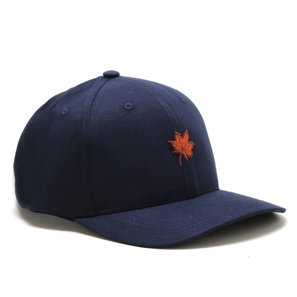 Boné Folha Canadian Azul/Laranja