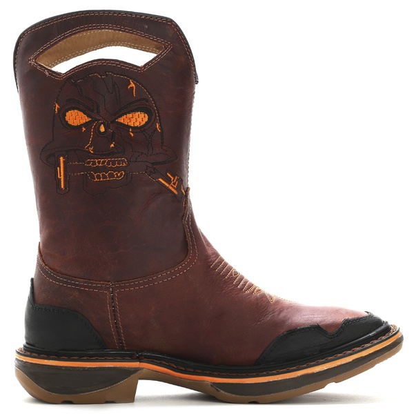 Workboot Decimator Skull Western High Country 1475 Fóssil Caramelo