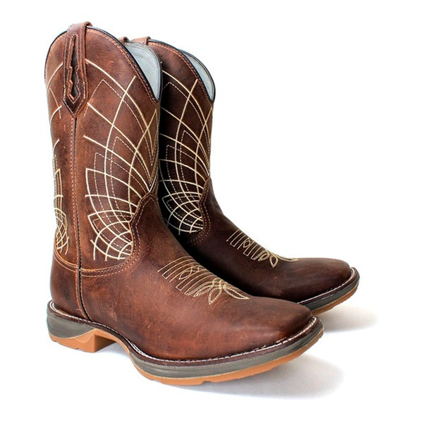 WorkBoot Spider High Country 1738 Crazy Horse Castanho